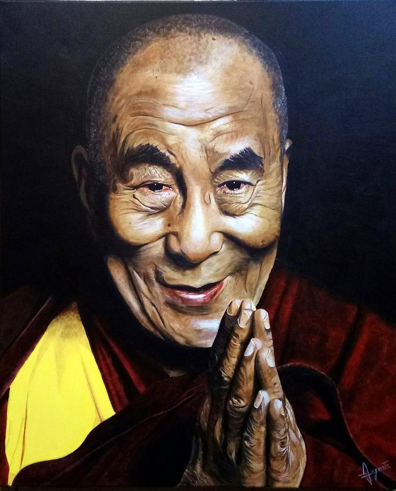 Dalai Lama by LUDO